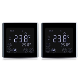 raumthermostate von floureon kaufen thermostat profi. Black Bedroom Furniture Sets. Home Design Ideas