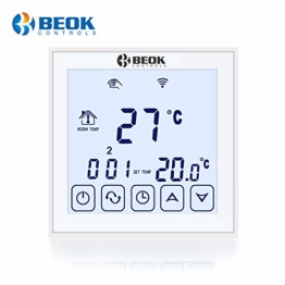 Beok tds23wifi Digitaler Unterputz Raumthermostat per App Programmierbarem Fußbodenheizungs-Temperaturregler Mit Touchscreen 16A 220V - 1