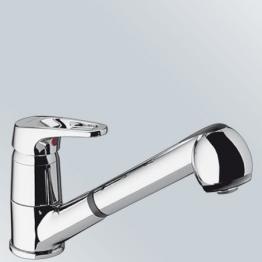 Blanco Wega-S Küchenarmatur, chrom, 514212 - 1