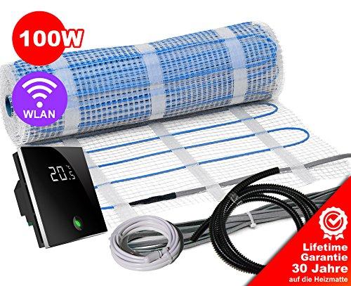 Elektrische Fußbodenheizung BZ-100 Set mit Thermostat - 30 Jahre ...