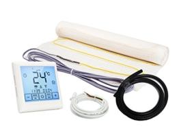 Elektrische Fußbodenheizung Komplett-Set NZ-160 Touch/Premium (2.5 m² - 0.5 m x 5 m) - 1