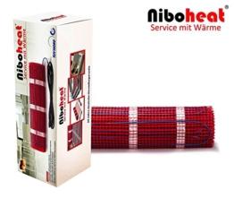 Elektrische Fußbodenheizung von NiboHeat24 BZ-150 TÜV geprüfte Sicherheit mit 20 Jahre deutsche Herstellergarantie Fussbodenheizung (2,5 m² - 0,5 m x 5 m) - 1