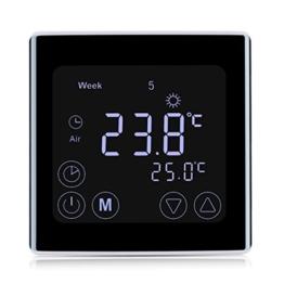 raumthermostate von floureon kaufen thermostat profi. Black Bedroom Furniture Sets. Home Design Ideas