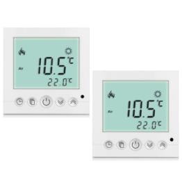 High Quality BYC16.H3 16A White Backlight LCD Display Thermostat Temperature Controller Indicator (2pc in Lieferumfang) -
