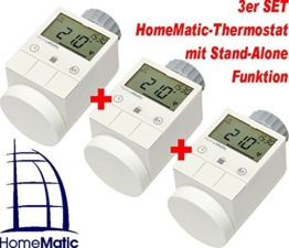 HomeMatic Funk-Heizkörperthermostat 3er Set -