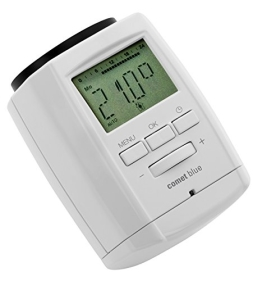 komforthaus Bluetooth Heizkörperthermostat COMET Blue, Programmierung über Smartphone oder Tablet, Made in Germany! - 1