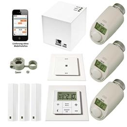 """komforthaus Mega-Starterset """"MAX!"""" Intelligente Heizungssteuerung über LAN, PC, SmartPhone, Tablet - komplett für 3 Räume - 1"""
