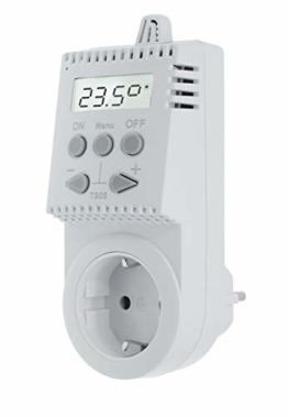 Komforthaus Steckerthermostat TS05 Thermostat Infrarotheizung - 1