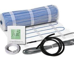 Komplett-Set elektrische Fußbodenheizung BZ-100 digital / 3,0 m² / 0,5 m x 6,0 m -