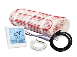 Komplett-Set Elektrische Fußbodenheizung BZ-150 Touch (1.5 m² - 0.5 m x 3 m) - 1
