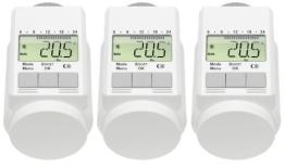 Programmierbarer Heizkörper-Thermostat (Energiesparregler) 3er-Set - 1