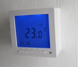 SM-PC®, Digital Thermostat ´Aufputz´ für Fussbodenheizung max 16A, großes Display, Wochenprogramm #894ap -