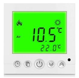 SM-PC®, Digital Thermostat Raumthermostat Fußbodenheizung Wandheizung LED grün #a32 -