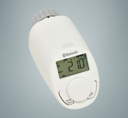 SmartBlue Heizköperthermostat Bluetooth 2-er Set, Programmierung über Smartphone oder Tablet - 1