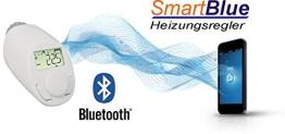 SmartBlue Heizköperthermostat Bluetooth, Programmierung über Smartphone oder Tablet - 1