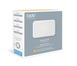 tado° Extension Kit (Zusatzprodukt) - Funk-Empfänger für die Heizungsanlage für Einfamilienhäuser ohne Raumthermostat oder mit Funkthermostat -