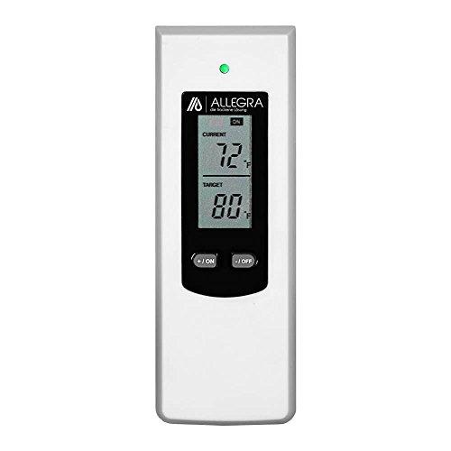 Thermostat f/ür Heizk/örper Raumthermostat Infrarotheizung mit Fernbedienung Steckerthermostat Heizk/örperthermostat